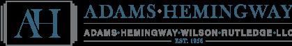 Adams, Hemingway, Wilson, Rutledge Law, L.L.C. – Macon, Georgia logo